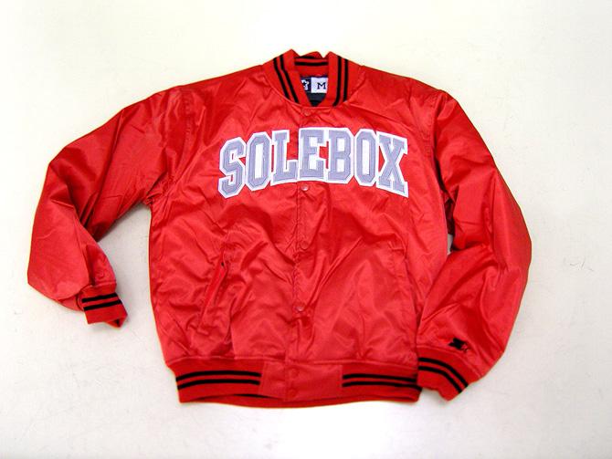 solebox x starter jacket