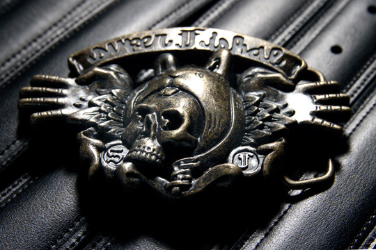 upper playground x superfishal belt buckle