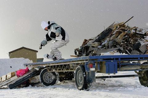 28 day winter snowboarding narrative