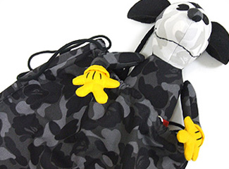 disney x bape color camo mickey