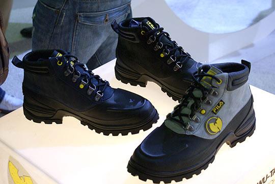 fila x wu tang clan boots