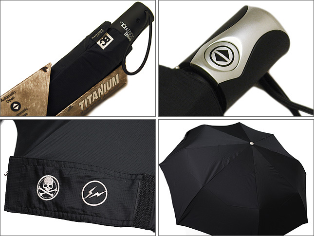 fragment design x base control x mastermind japan umbrella