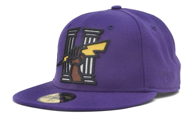 hall fame fist lightning new era 59fifty cap