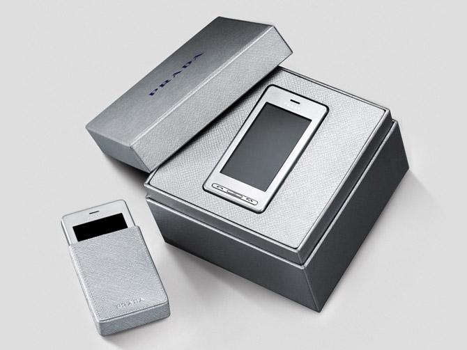 lg x prada silver