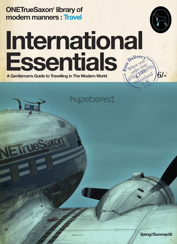 onetrue saxon 2008 springsummer international essentials travel guide