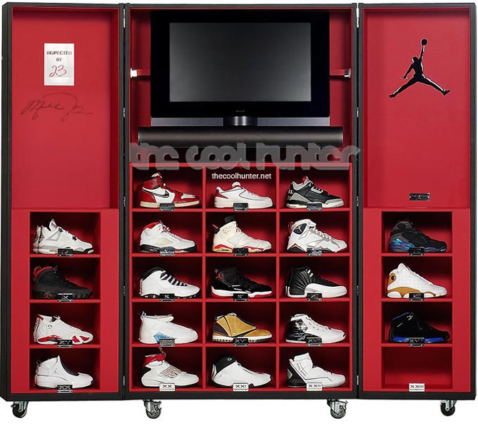 Pinel&Pinel Air Jordan Sneaker Trunk