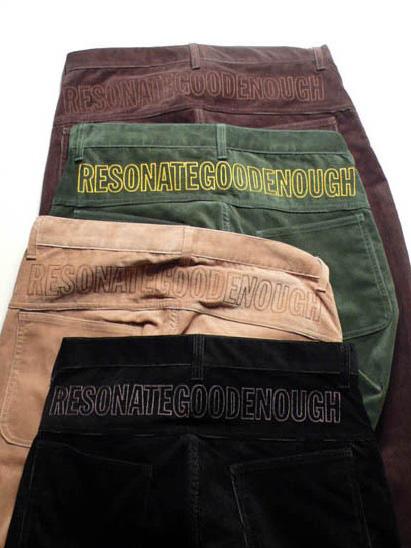 resonate goodenough 0708 fallwinter collection