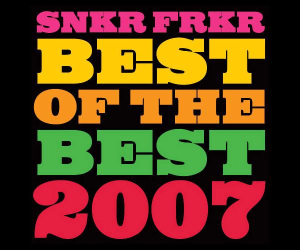 sneaker freakers best 2007