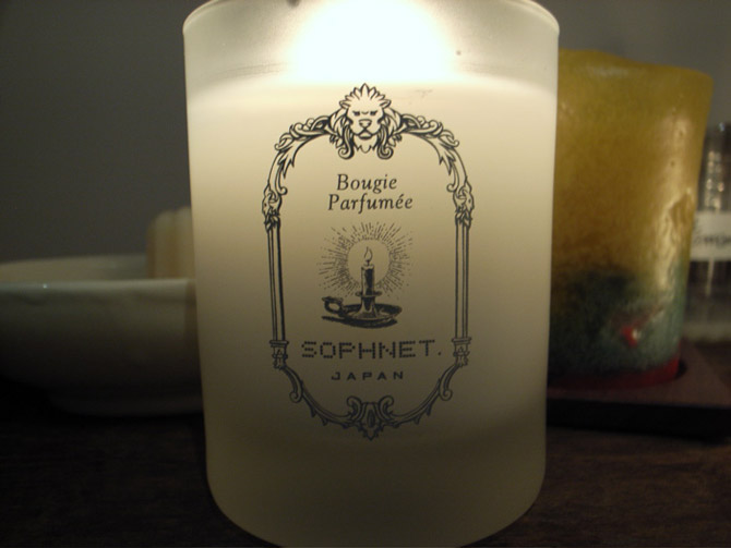 detaille x sophnet candles