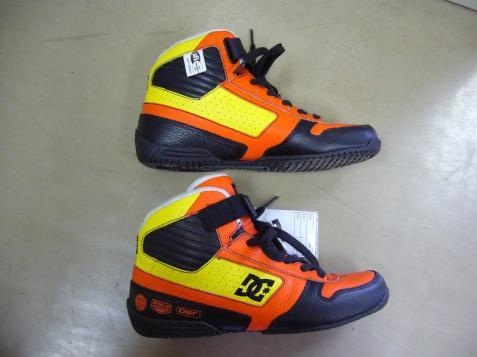 dc shoes x team orange kumakubo pro