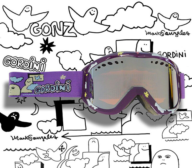 gordini artist series project goggles