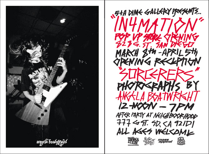 in4mation pop store featuring angela boatwright
