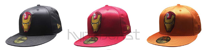 new era 59fifty iron man pack
