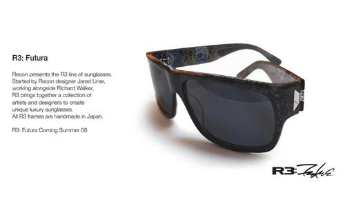 r3 sunglass futura