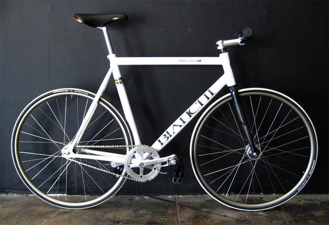 bianchi x rogue status fixed gear bike