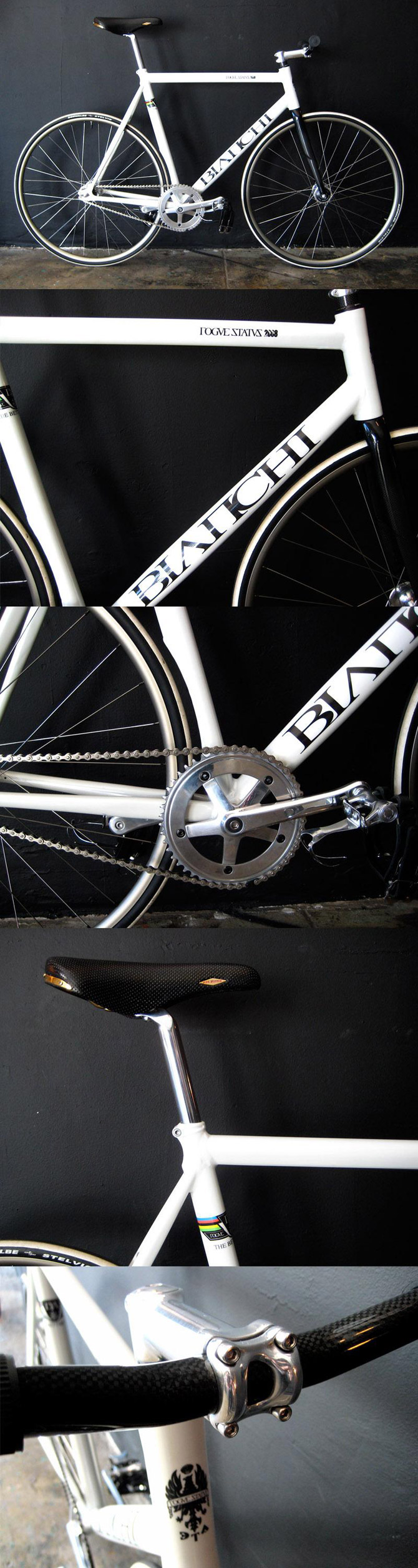 bianchi x rogue status fixed gear bike