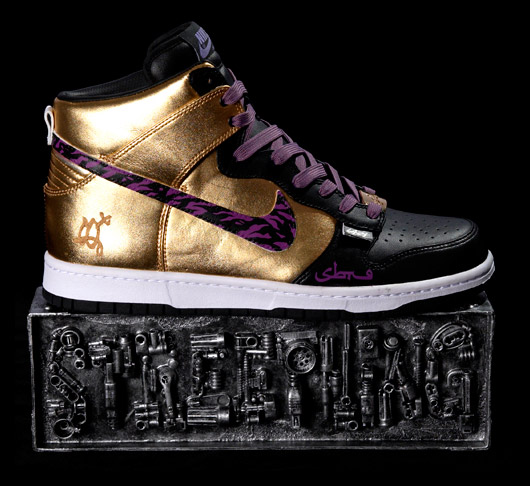 sbtg x lazy nike dunk hi customs
