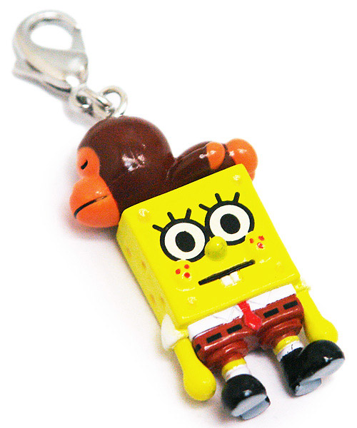 spongebob squarepants x bape plush toy