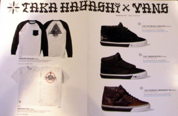 taka hayashi x vans part 2 collection