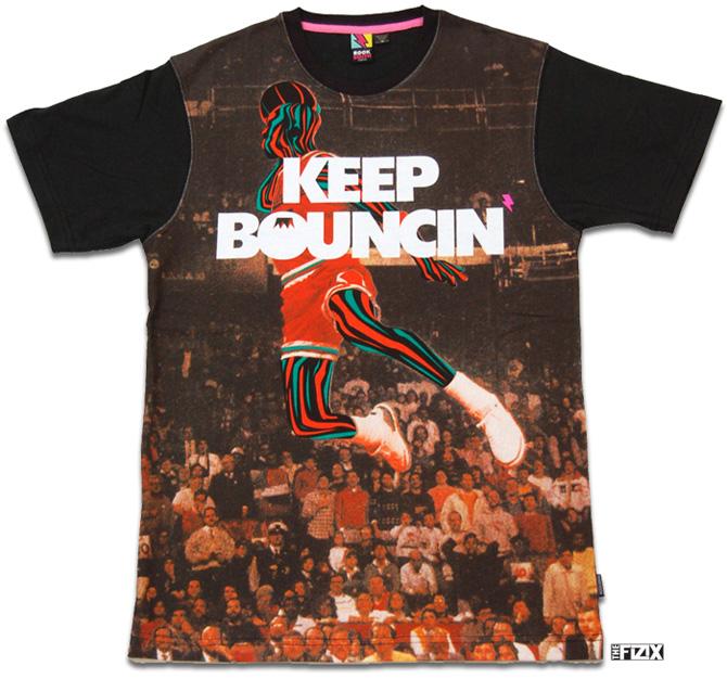 undrcrwn x rocksmith keep bouncin t shirt