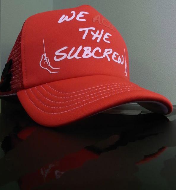 we acu subcrew mesh cap
