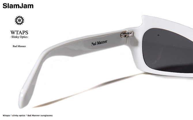 wtaps slinky optics bad manner sunglasses