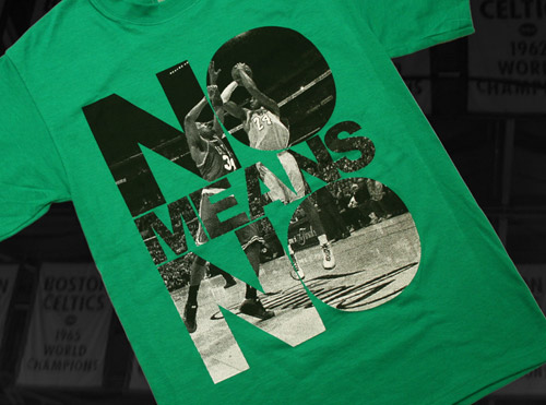 "Bodega ""No Means No"" T-shirt"