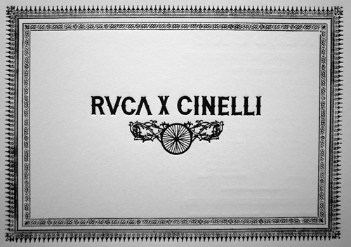 RVCA x Cinelli Exhibition