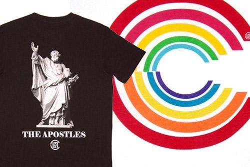CLOT Rainbow C & Apostles Tee
