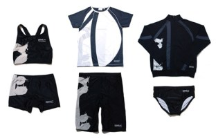 "COMME des GARCONS x Speedo ""Kokuro"" Collection"