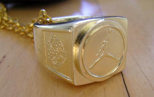 Jordan Brand 6 Rings Pendant