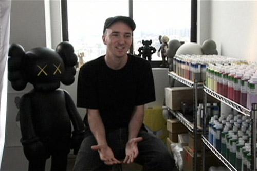 KAWS x i-D Magazine Video Interview