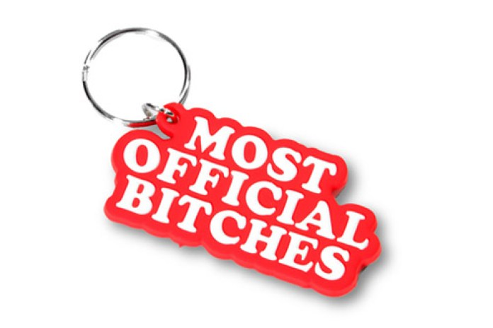 Married to the Mob Keychain