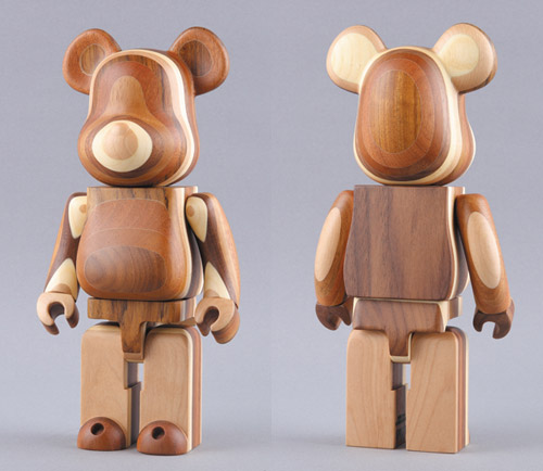 Medicom Toy Exhibition '08: Layered Wood Bearbrick