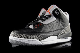 Air Jordan III Black/Cement - Collezione Pack