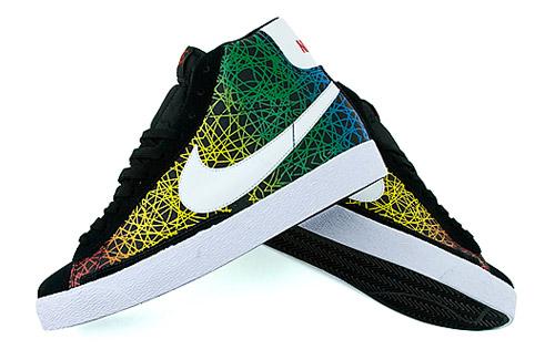 "Nike Blazer High ""Rainbow Scribble"""