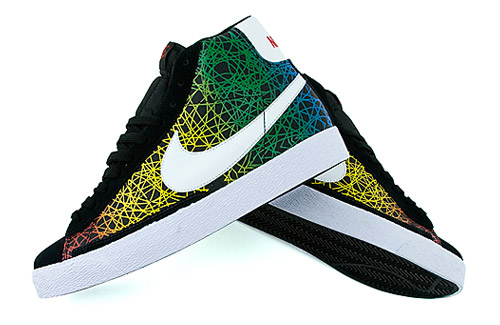 "Nike Blazer High ""Rainbow Scribble"""