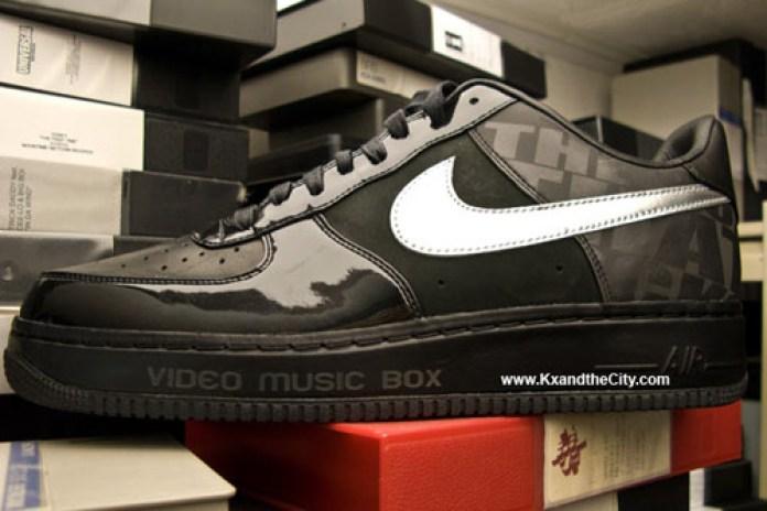Video Music Box x Nike Air Force 1 25th Anniversary