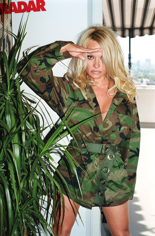 pamela anderson by terry richardson