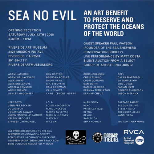 Sea No Evil Art Show