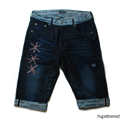 Stussy x Neighborhood Boneyards Denim Shorts