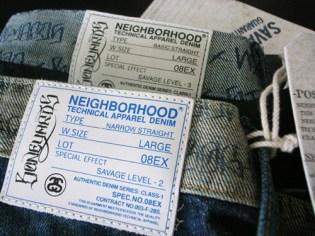 "Stussy x Neighborhood ""Boneyards"" Denim & Tees"