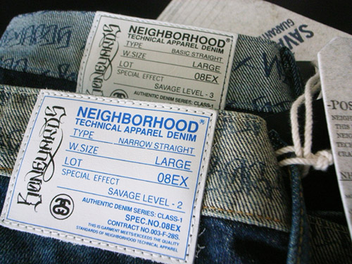 "Stussy x Neighborhood ""Boneyards"" Denim & Tees"