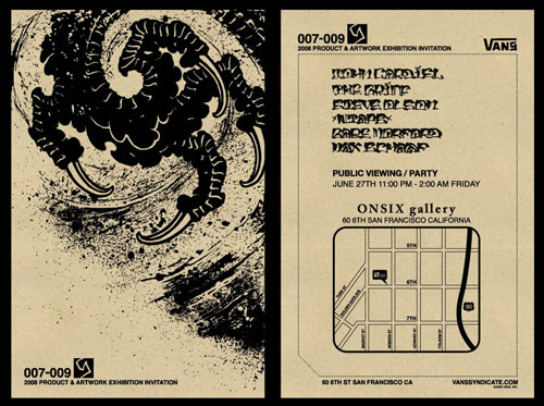 Vans Syndicate Product & Artwork Exhibition