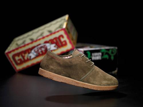 aaron rose dc artist project shoe series