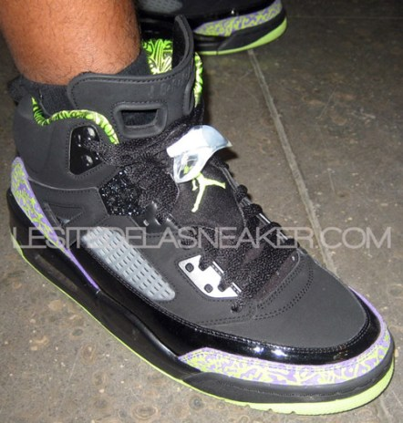 Jordan Spiz'ike Lime Green/Purple