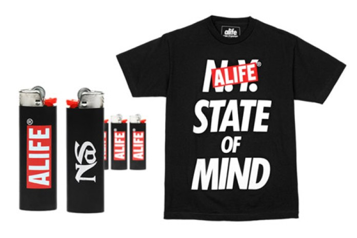 ALIFE X NaS Collaborative Tee & Lighter