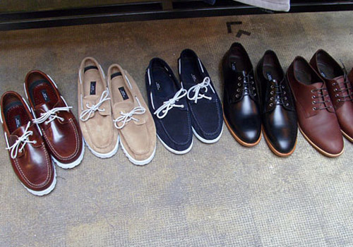 A.P.C. 2009 Spring Footwear Preview