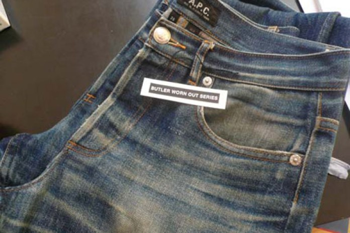 "A.P.C. Jeans ""Butler Worn Out"""