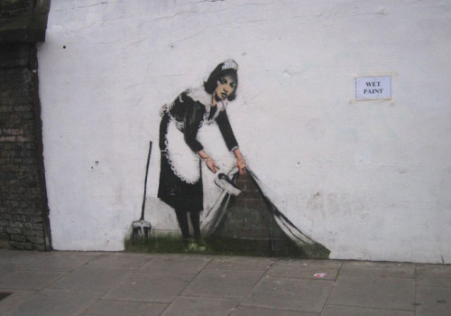 """Banksy """"Pest Control"""" Committee"""